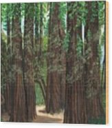 The Tall and Not to be Cut Wood Print