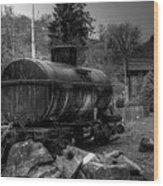 The Tanker Car Wood Print