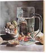 The Tea Cup Wood Print