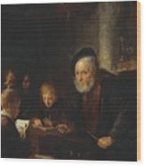 The Teacher 1645 Wood Print