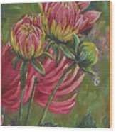 The Tear Wood Print by Debbie Harding