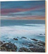 The Tempestuous Sea Wood Print