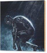 The Terminator 1984 Wood Print