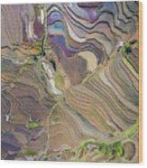 The Terraces Of Yuanyang China Wood Print