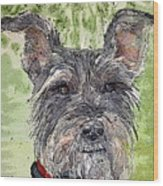 The Terrier Wood Print