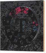 The Texas Rangers 1c Wood Print