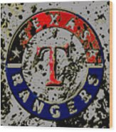The Texas Rangers 6b Wood Print