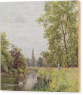 The Thames At Purley Wood Print