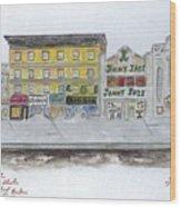 Theatre's Of Harlem's 125th Street Wood Print