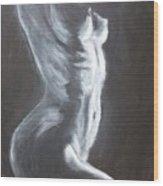 The Thin Line Wood Print