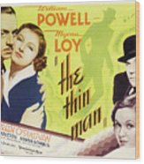 The Thin Man 1934 Wood Print