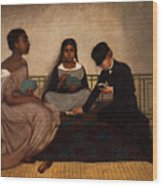The Three Races Or Equality Before The Law Wood Print