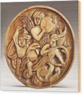 The Three Singing Angels  Wood Print