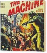 The Time Machine B Wood Print