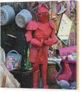 The Tin Man Wood Print