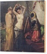 The Toilet In The Seraglio Wood Print