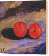 The Tomatoes  Wood Print