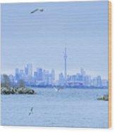 The Toronto Skyline Wood Print