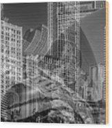 The Tourists - Chicago II Wood Print