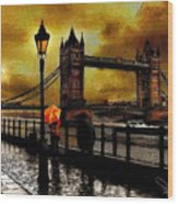 The Tower Bridge As I See Wood Print