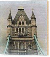 The Tower Bridge In London 2 Wood Print