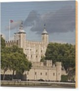 The Tower Of London. Wood Print