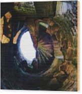 The Tower Stairs Wood Print
