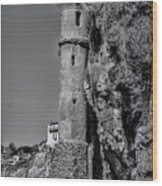 The Tower Wood Print