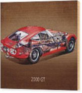 The Toyota 2000 Gt Wood Print
