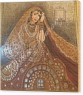 The Traditional Lady Wood Print