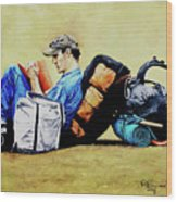 The Traveler 2 - El Viajero 2 Wood Print