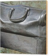 The Travellers Travel Bag Wood Print