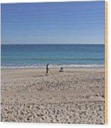 The Treasure Coast At Vero Beach In Florida Wood Print