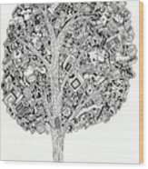 The Tree That Never Fails Wood Print