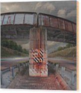 The Trestle With The Pestle Wood Print
