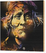 The Tribe Elder Wood Print