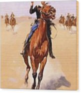 The Trooper 1892 Wood Print