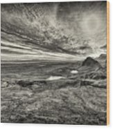 The Trotternish Ridge No. 3 Wood Print