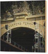 The Tunnel Wood Print by Joyce Kimble Smith