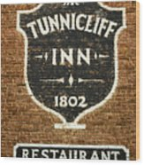 The Tunnicliff Inn - Cooperstown Wood Print