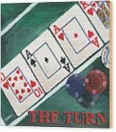 The Turn Wood Print by Debbie DeWitt