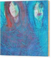 The Twins Wood Print