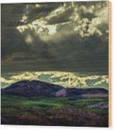 The Twisted Sky Wood Print