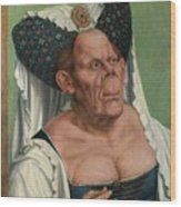 The Ugly Duchess, By Quentin Matsys Wood Print