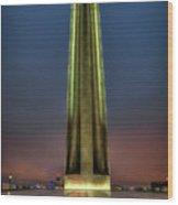 The Ultimate Sacrifice Liberty Memorial Kansas City Missouri Art Wood Print