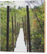 The Uncertain Path Wood Print