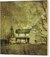 The Uninvited Wood Print