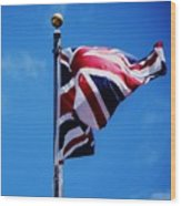 The Flag Of Great Britain Wood Print