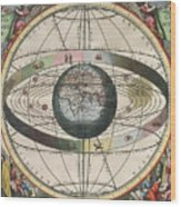 The Universe Of Ptolemy Harmonia Wood Print by Science Source