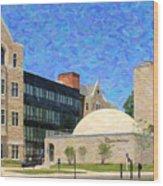 The University Of Toledo Wood Print